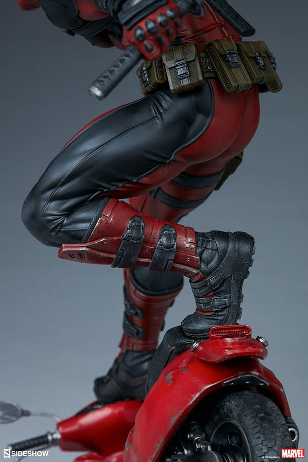 Marvel Comics Premium Deadpool Statue from Sideshow Collectibles