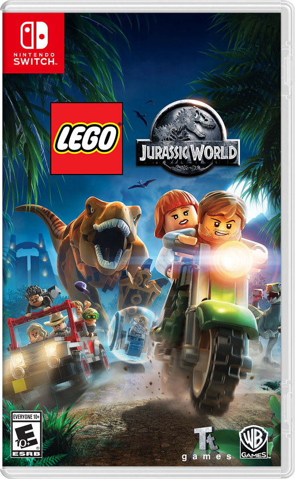 """""""LEGO Jurassic World"""" is Coming to the Nintendo Switch"""