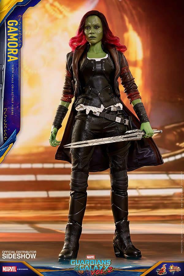 Hot Toys Guardians Vol. 2 Gamora 2