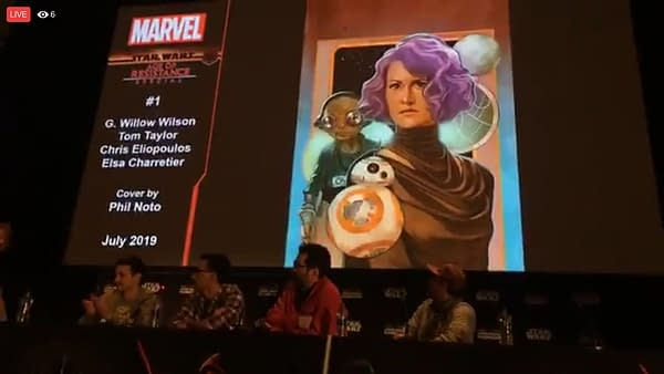 Star Wars Comcis For Finn, Rey, Captain Phasma With Tom Taylor, G Willow Wilson Announced as Greg Pak Takes Over Ongoing Series
