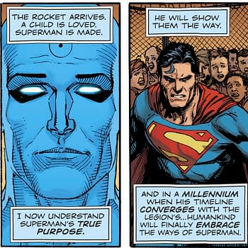 Doomsday Clock as a Love Letter to Superman
