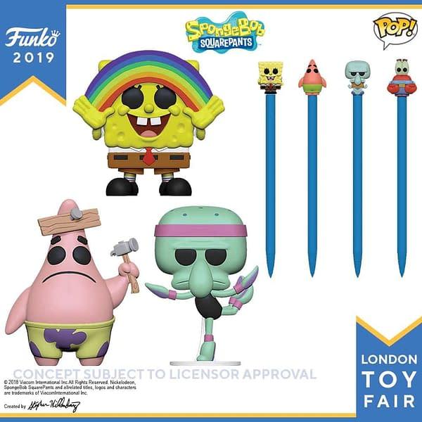 Funko London Toy Fair Spongebob 1