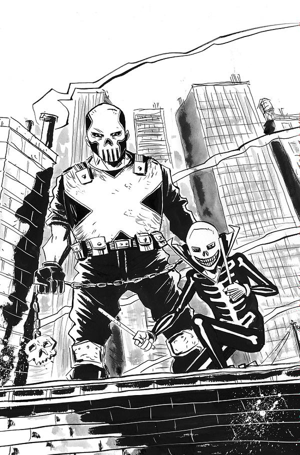 For FOC, Here's Jeff Lemire's Variant Cover for Skulldigger & Skeleton Boy #1