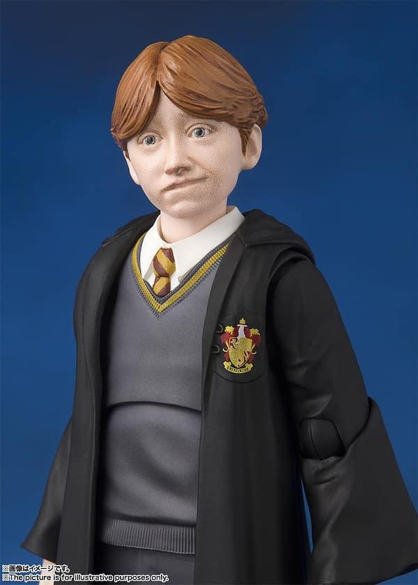 SH Figuarts Harry Potter Ron 8
