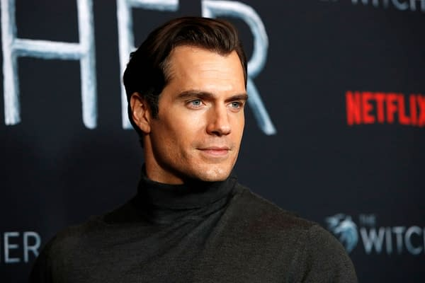 "Henry Cavill at the ""The Witcher"" Premiere Screening at the Egyptian Theater on December 3, 2019 in Los Angeles, CA. Editorial credit: Kathy Hutchins / Shutterstock.com"