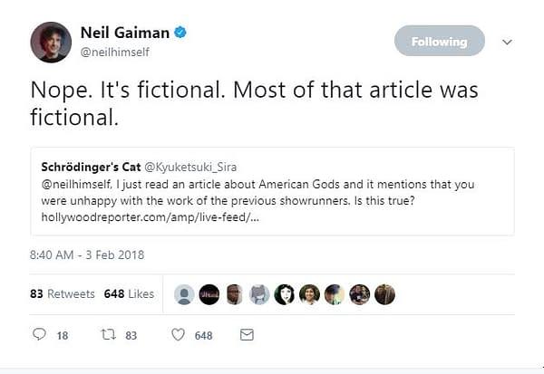 American Gods Season 2: Bruce Langley Confirms Production Start on Starz Series