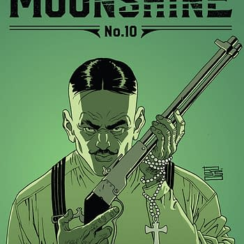 Moonshine #10 cover by Eduardo Risso