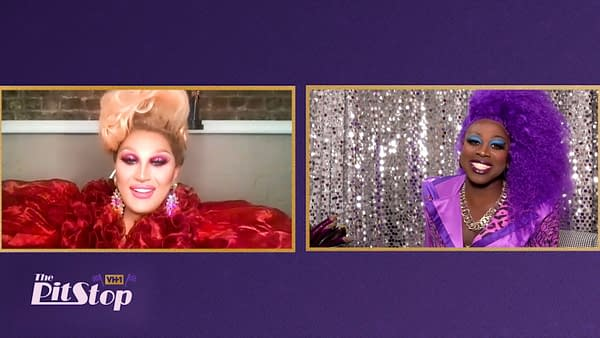 """A scene from RuPaul's Drag Race All Stars season 5 """"The Pit Stop"""" (Image: VH1)"""