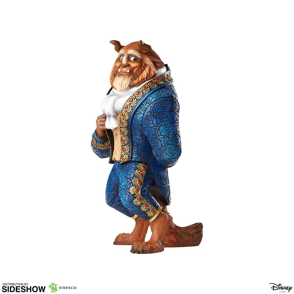 Beauty and the Beast Get Magical with New Enesco Statues
