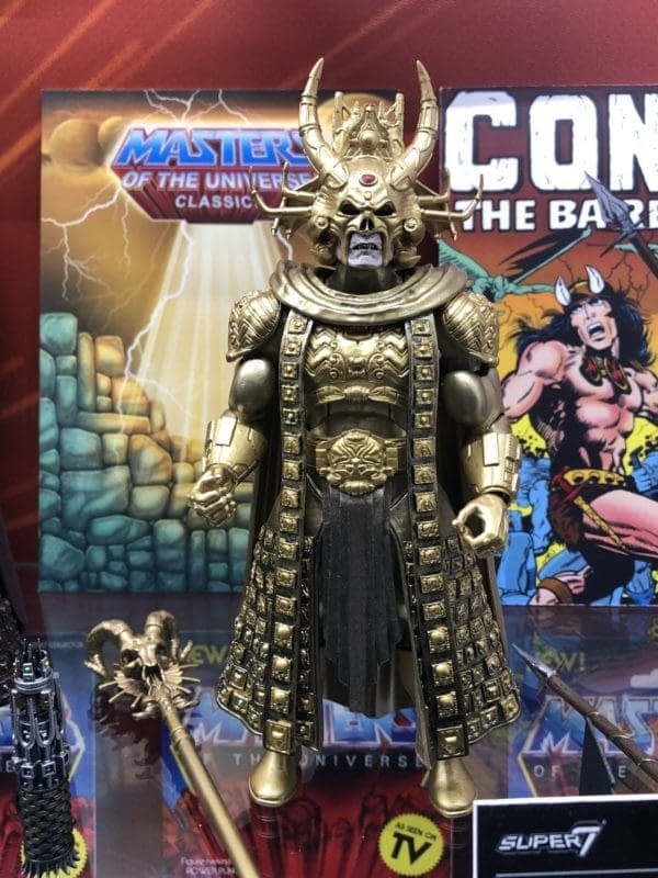 Toy Fair Masters of the Universe Movie Classic Figures Super7