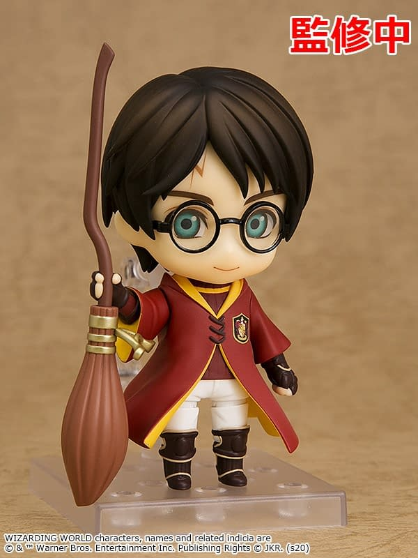Harry Potter Quidditch Nendoroids on the Way from Good Smile Company