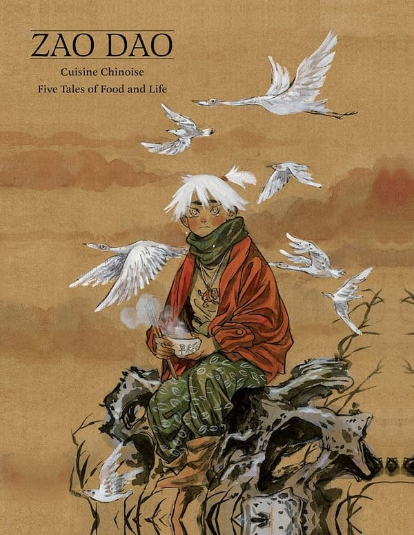Dark Horse Brings Cuisine Chinoise Anthology to North America in June