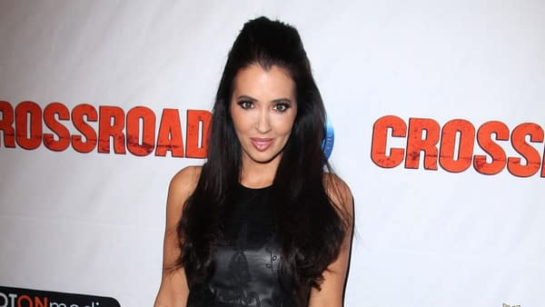 "Amy Weber at the Red Carpet Premiere for ""Crossroad,"" Alex Theater, Glendale, CA. Editorial credit: s_bukley / Shutterstock.com"