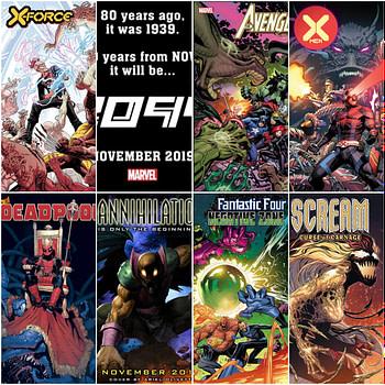Marvel Comics Solicitations For November 2019 – 19 Of Them Frankensteined
