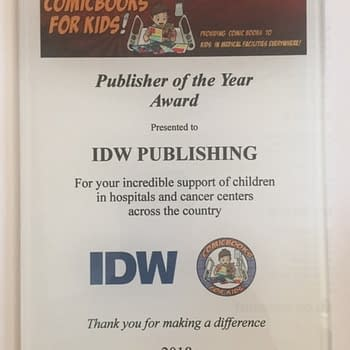 IDW Diamond and Hooked On Comics in Pennsylvania Win Comic Books For Kids Awards