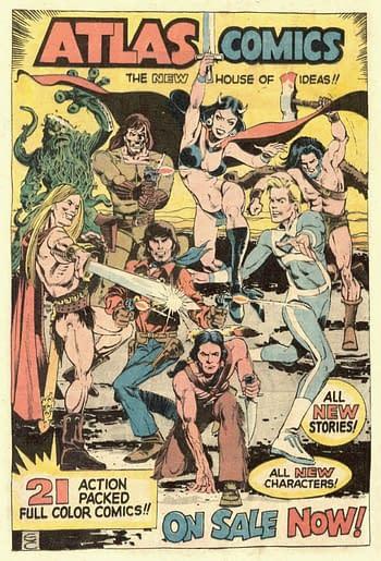 Gail Simone and Dan DiDio On Their Love for Atlas Comics