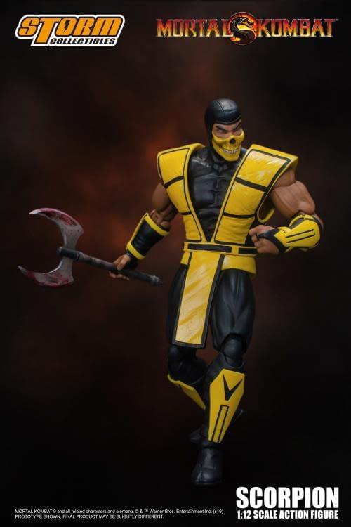 Mortal Kombat Favorite Scorpion Gets a New Storm Collectibles Figure