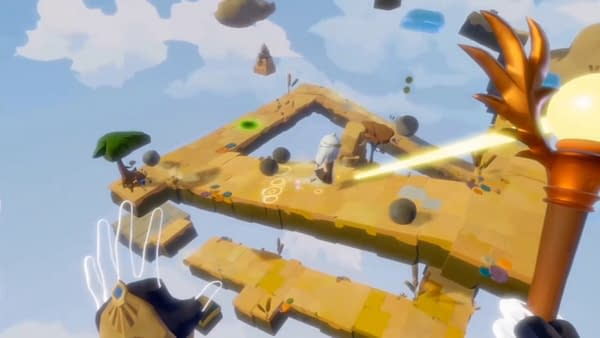 Light Tracer Review: A Pretty, Kid-Friendly VR Puzzle Platformer