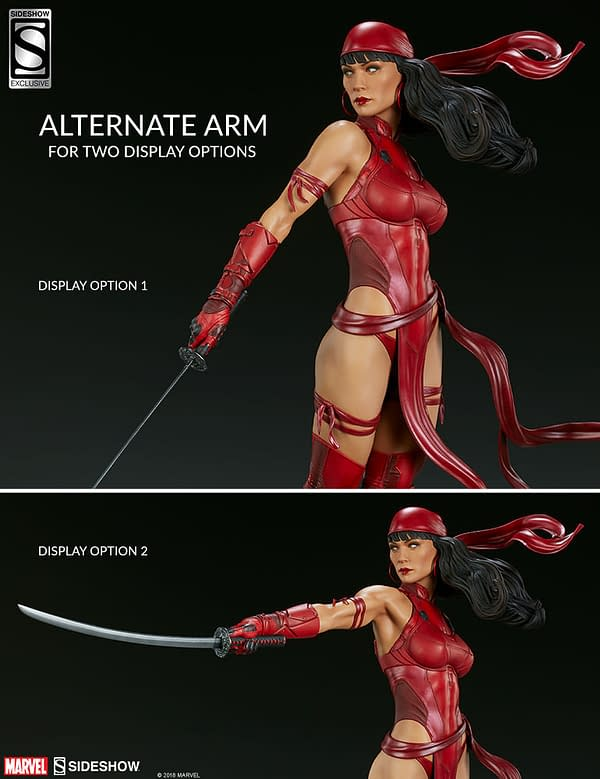 Sideshow Collectible Premium Format Figure Elektra 20