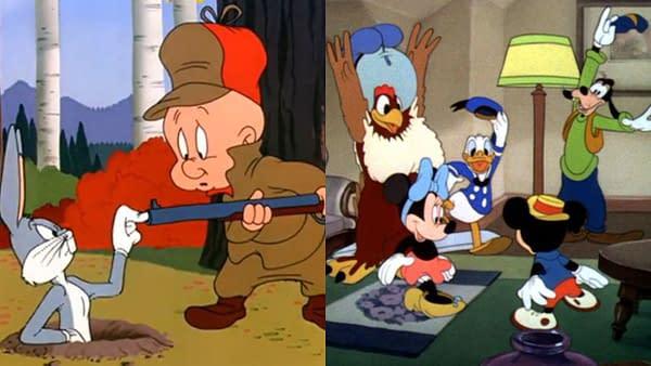 Looney Tunes vs Mickey and Friends on Streaming (WarnerMedia/Disney)