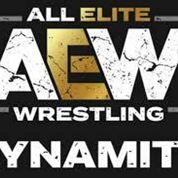 The official logo for AEW Dynamite.