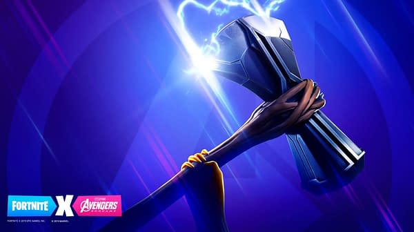 Fortnite is Still Teasing a New Avengers Crossover, This Time With Stormbreaker