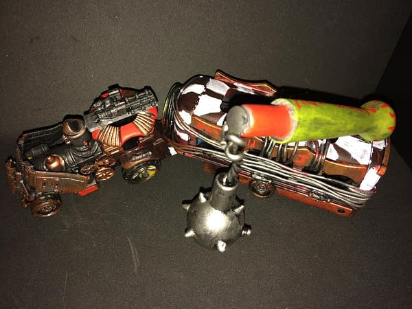 "Hobby: Building The War Rig for ""Gaslands: Refuelled"""