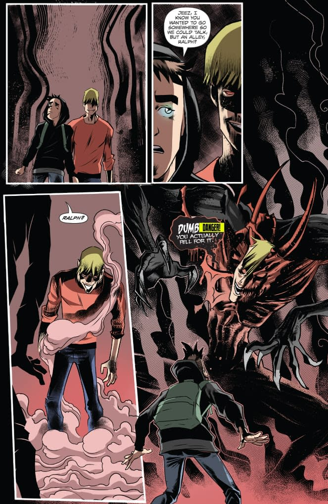 A preview page of Lucifer's Knight LucifersKnight4