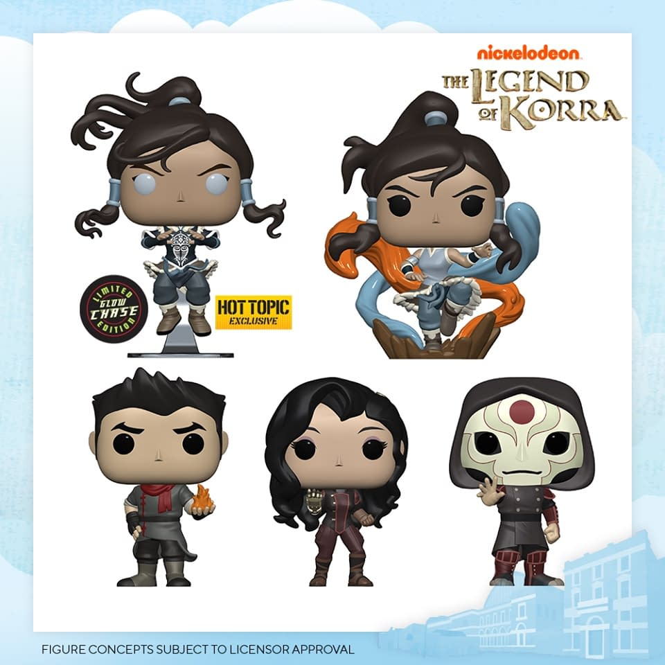 Funko London Toy Fair 2020 Reveals - Legend of Korra
