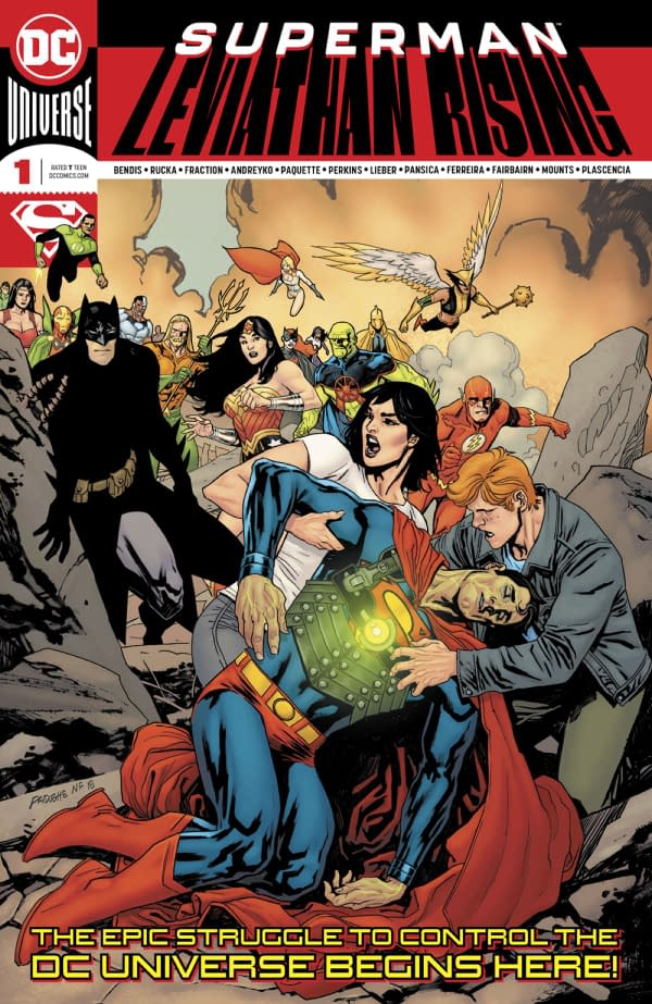 How Leviathan Rising Turns Lois Lane Into a Bad Role Model for Children (Spoilers)