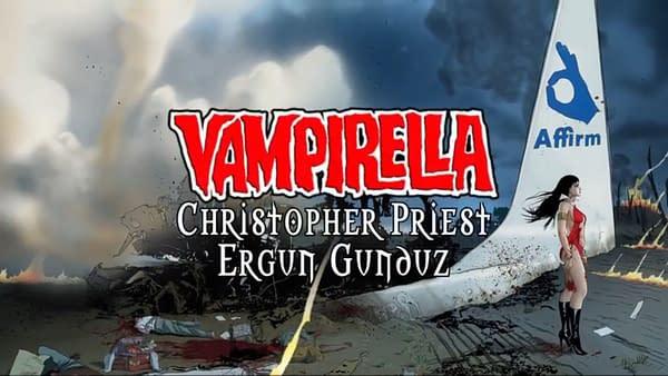 Vampirella #1 Gets a Trailer
