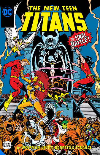 New Teen Titans Vol 12, one of many DC Big Books in 2020 and 2021