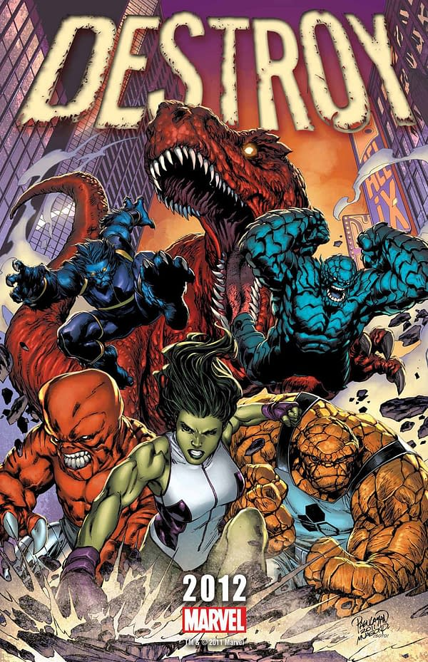 Now Marvel Cancels Destroyers Series From Fred Van Lente And Kyle Hotz