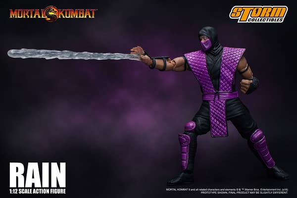 NYCC Storm Collectibles Mortal Kombat Rain Exclusive 6