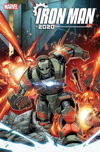The Return of Tom DeFalco, and Quake, for Iron Man 2020 in February
