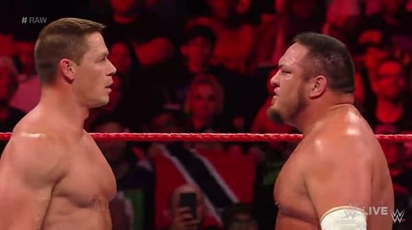 John Cena, Samoa Joe Feud Spills Over into Cartoon World with TMNT, Transformers Roles