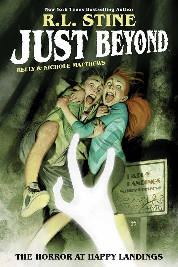 """RL Stine's """"Just Beyond"""" book series is heading to Disney+, courtesy of BOOM! Studios."""