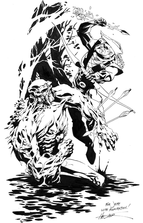 05 Hester Interview Swamp thing green Arrow
