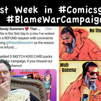 Last Week in #Comicsgate: #BlameWarCampaign