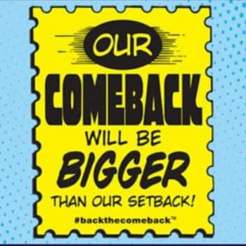 Comeback May Be Bigger, But Logo Isn't - Comic Store In Your Future