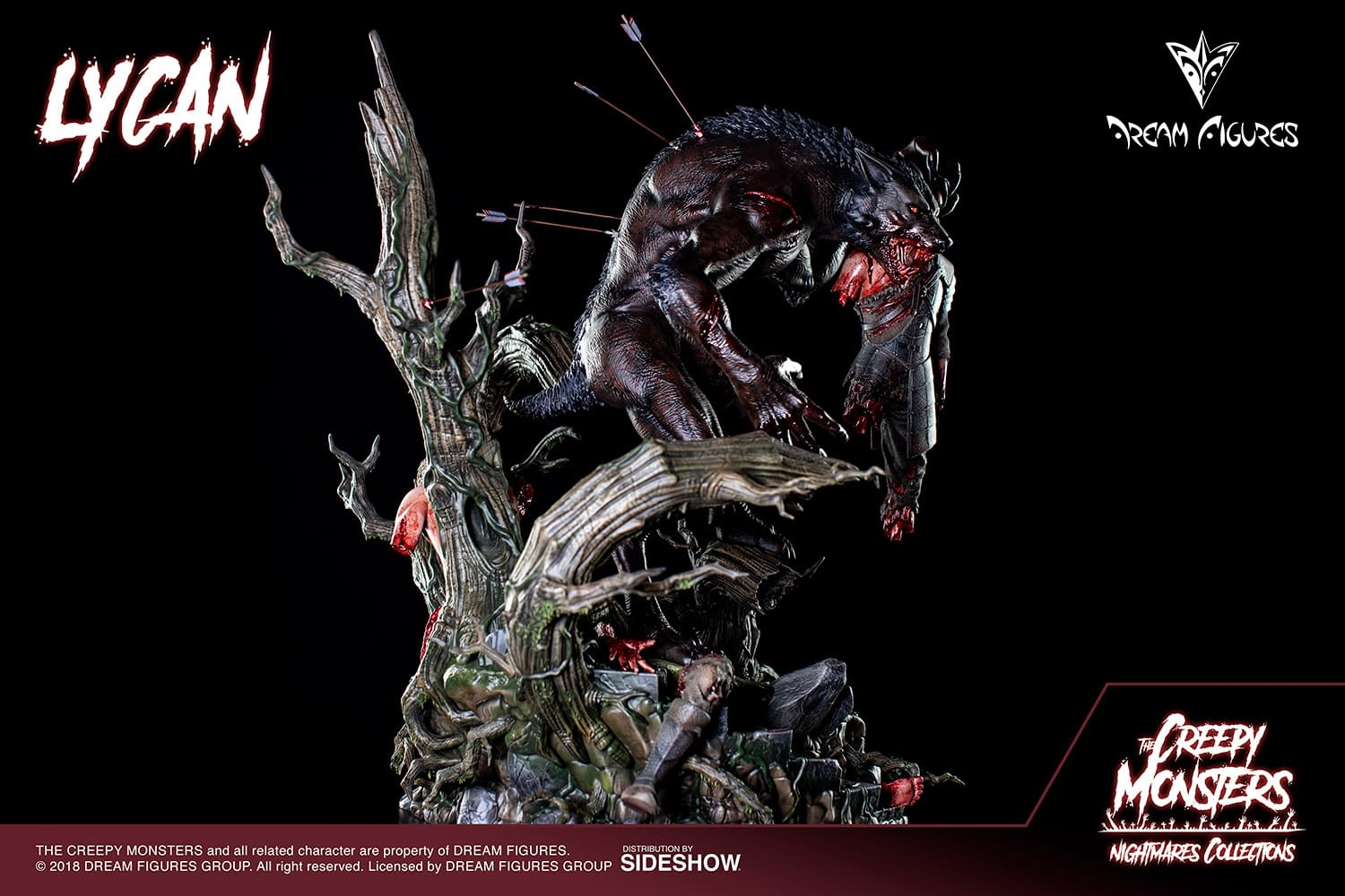Lycan Nightmare Come to Life With Dream Figures Statue