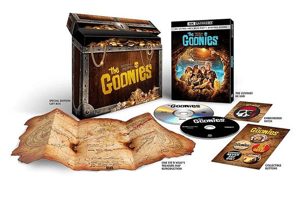 Les Goonies reçoivent un énorme ensemble Blu-ray 4K de Warner Bros.