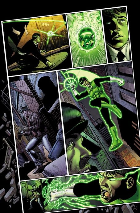 Interior art from Batman the Dawnbreaker #1 by Ethan van Sciver and Jason Wright