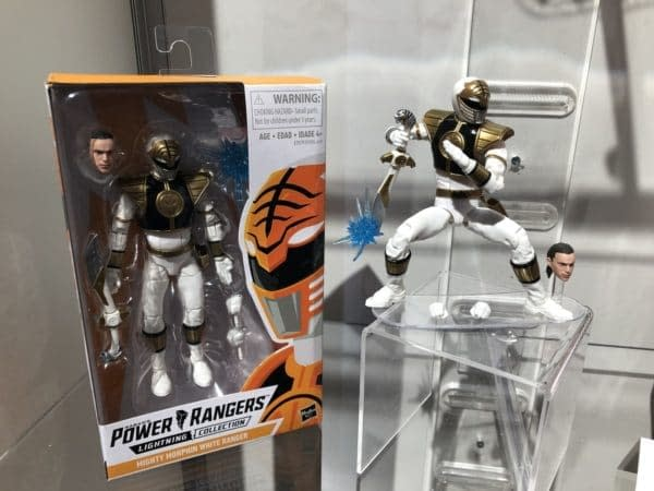 Toy Fair Power Rangers Lightning Collection White Ranger