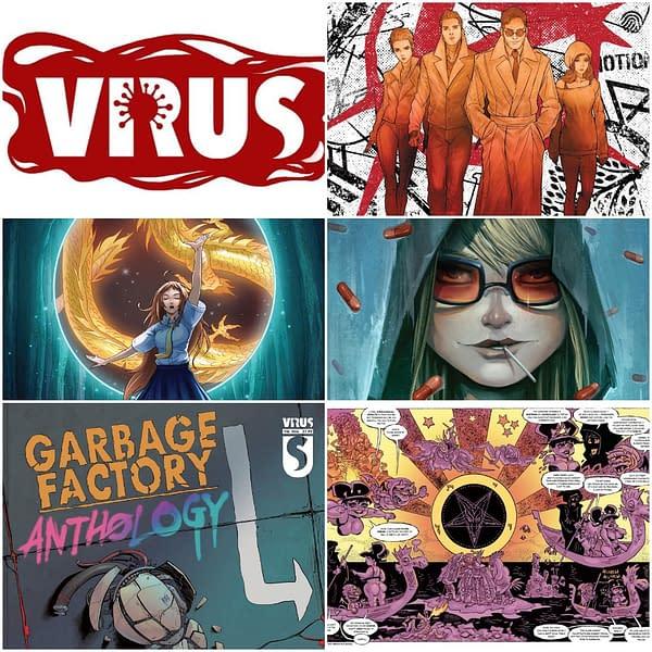 Heavy Metal Calls New Direct Comics 'Virus' Says Retailers Will Close.