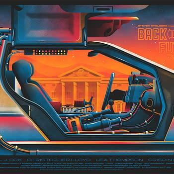 Mondo Back to the Future Poster 1