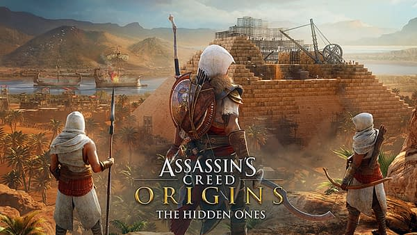 Assassin's Creed Origins Will Get a Title Update Along With The Hidden Ones DLC