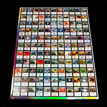 """Uncut Sheets To Be Auctioned - """"Magic: The Gathering"""""""