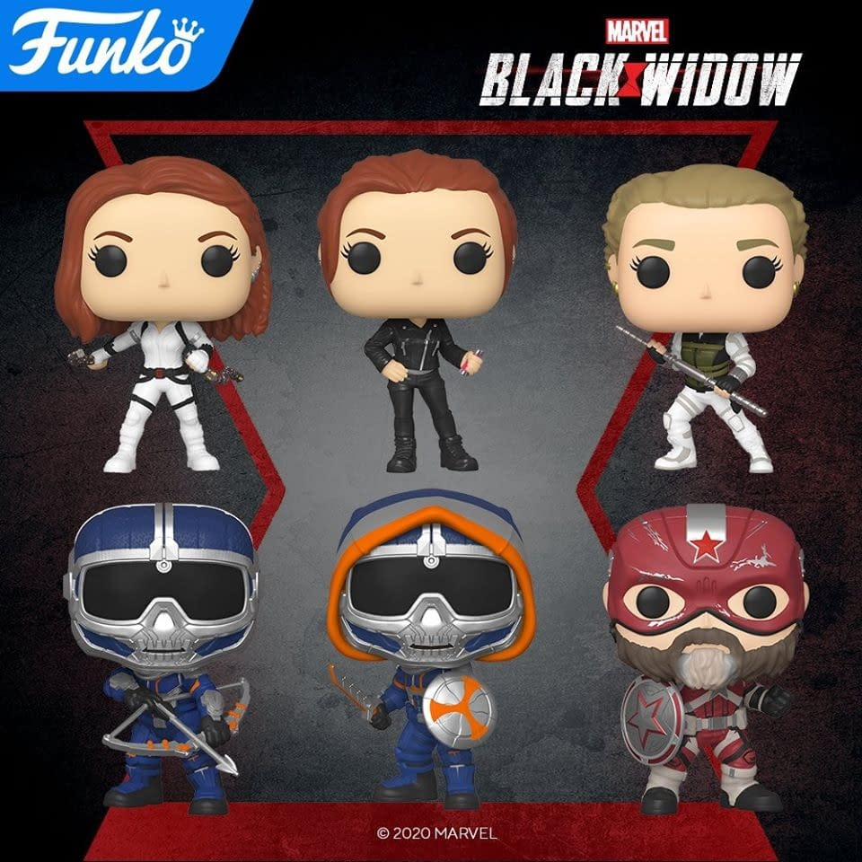 """""""Black Widow"""" Solo Film Gets Upcoming Wave of Funko Pops"""