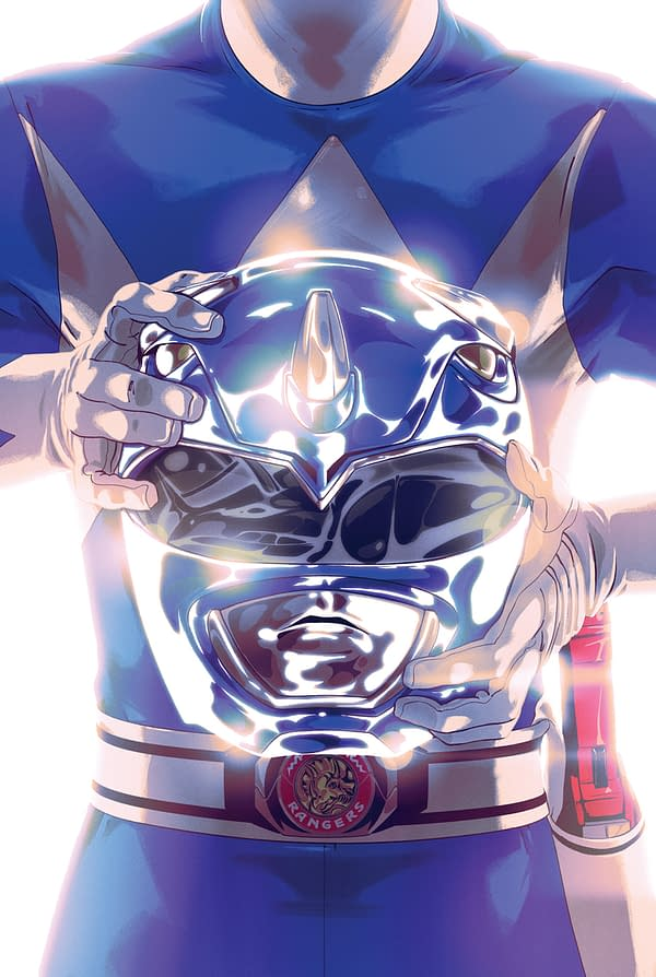MMPR SDCC - Blue Ranger